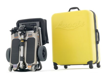 Valise - Scooter pliable Luggie