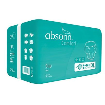 Slip Absorbant Absorin Jour Taille XL