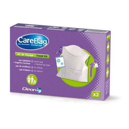 Kit de voyage jetable CareBag