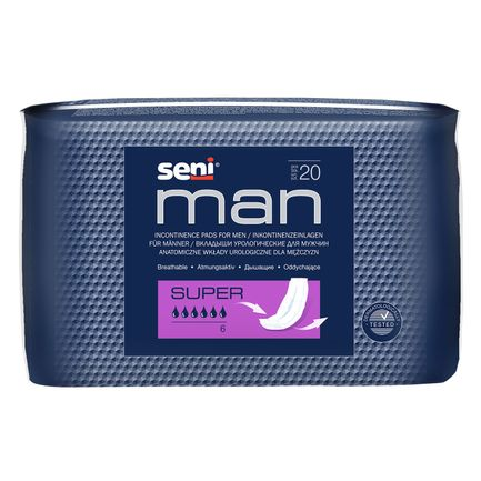 Protection anatomique masculine SENI MAN Super